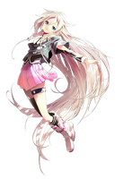 IA Vocaloid 3 Render by MegaBleachy