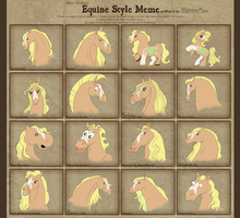 Equine Style Meme by NightimeMare