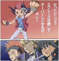 5DS reaction to ZeXal by Alister-Amelda