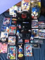 My Collection Of Classic Sonic Games. by ClassicSonicSatAm