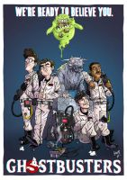 Who you gonna call? by wordmongerer