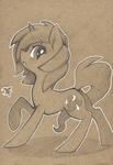G: Dawnfire sketch by DarkFlame75