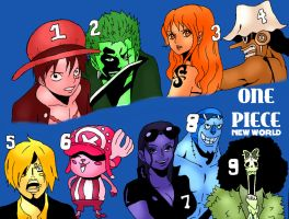 One Piece by 5ifty