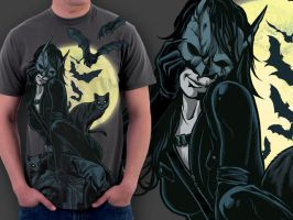 Catwoman Rises - DBH Shirt by scumbugg