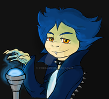 From my dearest brother :3 Human form Ludwig by SweBJ