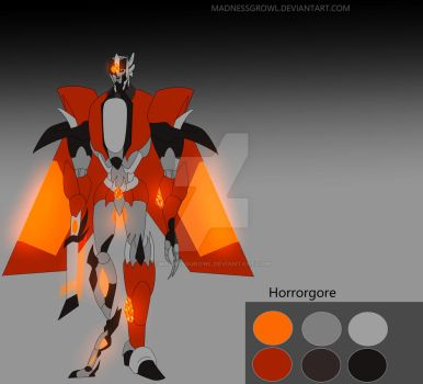 Horrorgore(my OC) by Madnessgrowl