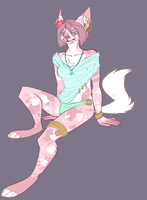 Cat lady Adopt by UndeadChickenNugget