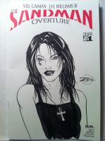 Sandman Sketch cover - Death by RichardZajac