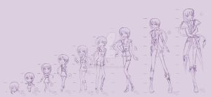 1to9 heads tall body tag by Michi-san