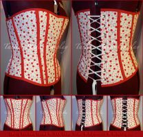 Cherry Overbust Corset by taeliac