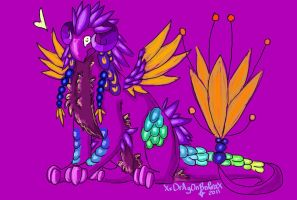 Feathered Dragon Auction by TheDragonsDomain