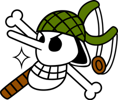 Usopp's Flag by zerocustom1989