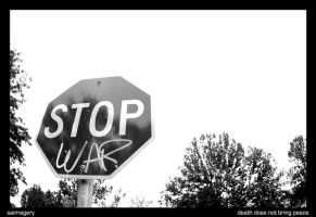 Stop War by saimagizzle