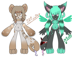 Nuevos Adoptables (closed)2 by Niut-LilJazzy