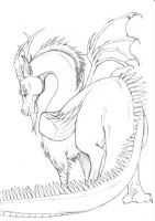 MLP - Realistic Discord lineart by fiszike