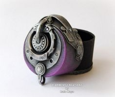 Steampunk Jewelry Round box 12 by Diarment