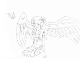 Ice Angel-request of oc by Blue-eyed-girl-23