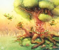 tree pixie's life by ambientdream
