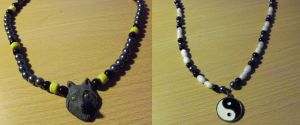 More necklaces by Crosseyed-Cupcake