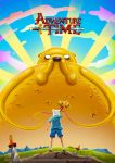 Adventure Time Poster - Jake the God by LaurenceAndrewPage