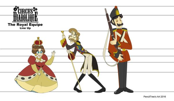 - The Royal Equipe Line Up - EDIT by PencilTree