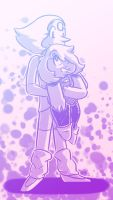 Day 95: Young-minded Pearl and Amethyst by Artistic-Winds