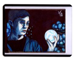 Harry Potter Sketchcard by carnalunacy