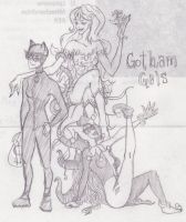Glorious Girls of Gotham by paper-stars