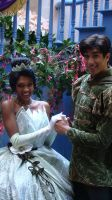 Tiana and Naveen 01 by dreamer20k