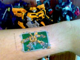 Bumblebee tattoo, kinda by Carnivius