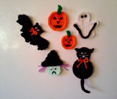 Halloween Magnets by koepr5333