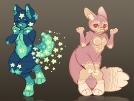 Sweet Anthro Adopts [CLOSED] by XAngelFeatherX
