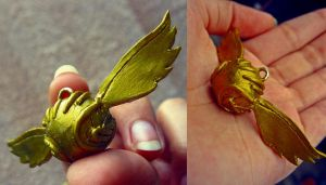 Golden Snitch by JessCassidy