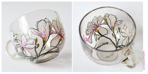 Magnolia Mug - Transparent by smist