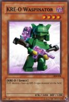 KRE-O Waspinator card by Tim1995