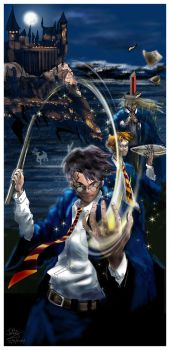 Harry Potter Mash :P by Janigany