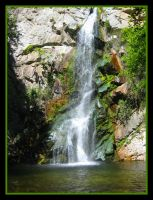 The Falls At Chantry Flats by Lokotei