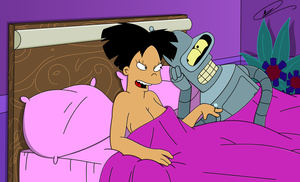 Amy and Bender - Erotic Aftermath by Spider-Matt