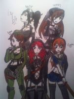 Sucker Punch Group Pic by BebeKimichi