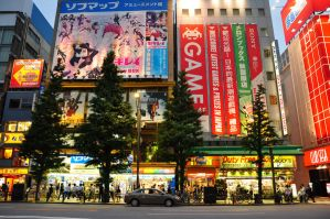 Streets of Akiba 1 by Otone