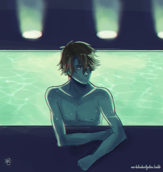 Jumin Han's Private Pool! by MichaellaMEstreano