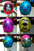Adventure Time Eggs! by Alison-Earth-Ninja