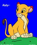 Ruby-My Lion King Comic by Midnight-tiger-girl