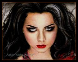 Amy Lee Portrait in Call Me When You re Sober by circus9aragon