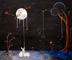 'I'll Give You The Moon' (2) by louise-rabey