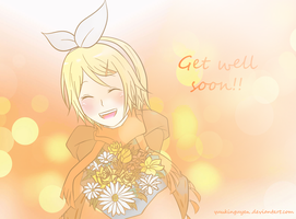 Get well soon by yuukinguyen