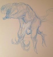 Creature Design 7 Rough Sketch by ATouchOfConcept