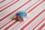 polymer clay wild berry pop tart by l337Jacqui