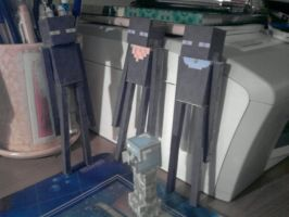 Ender-OC papercrafts WIP by MetroidHunters