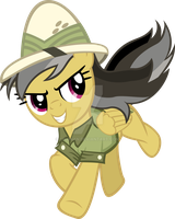 Daring Do Runs Through China by Likonan